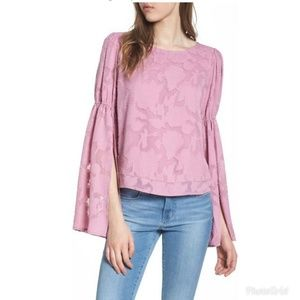 Leith Puff Flared Sleeve Blouse